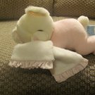 Russ Berrie Baby #3601 Sweet Dreams Pink PJS Security Blanket Rattles Teddy Bear Lovey Plush