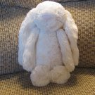 Jellycat Cream Bunny Rabbit Pink Suade Nose Lovey Plush 12""