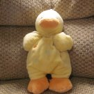 Carters Just One Year Yellow Duckie Duck Go To Sleep Musical Crib Pull Toy