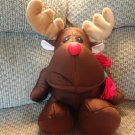 Brentwood Originals Brown Reindeer Microbead Lovey Plush 18""
