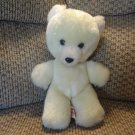 Vintage Animal Fair #0210A White Cream Teddy Bear Lovey Plush 10.5""