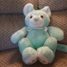 Vintage VHTF Animal Fair #9227A Green Turquoise Kinkajou Lovey Plush 12.5""
