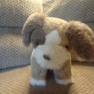 Vintage 1986 Avon My Puppy Tan Brown White Puppy DogLovey Plush 15""