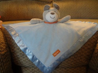 Carters Just One You Blue Hug Me Puppy Dog Security Blanket