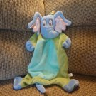 2007 Manhattan Toy Dr Seuss Horton Hears A Who Blue Green Horton Elephant Security Blanket