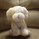 Russ Berrie Baby Lavender Rattles Tutti Fruity Puppy Dog Plush Lovey #21747 16""