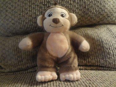 """2010 Garanimals Baby Monkey Lovey Plush Style 82497 8"""""""