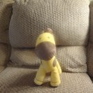 Carters Just One Year Musical Yellow Brown Spots Giraffe Baby Plush Lovey 11""