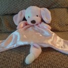 Baby Gund Huggybuddy Spunky Pink Puppy Dog Security Blanket 058966 14""