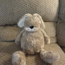 Jellycat Bunglie Bunny Rabbit Black Button Eyes Velvet Nose Whiskers Lovey Plush 15""