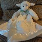 Bearington Baby Collection White Cream Child Of God Lamb Security Blanket Lovey Plush