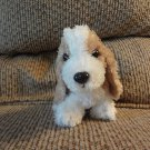 Circo Target Tan Black White Basset Hound Glass Like Eyes Lovey Plush 6""