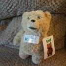 "NWT 2012 Commonwealth Talking 8"" Ted R Rated Teddy Bear Plush"