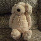 Jellycat Bunglie Golden Retriever Puppy Dog Black Button Eyes Velvet Nose Lovey Plush 11""