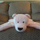 "Baby Gund Comfy Cozy Pink Teddy Bear Security Blanket 5864 17x14"""