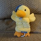 Carters Yellow Duckie Duck Old McDonald Expanding Musical Crib Pull Toy