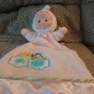2001 Fisher Price Mattel Flutterbye Birds Pink Doll Dolly Lovey Security Blanket Plush