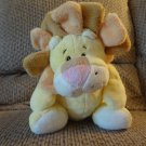 Baby Ganz #BG1758 Plumpies Yellow Orange Pink Black White Lion Lovey Plush 14""