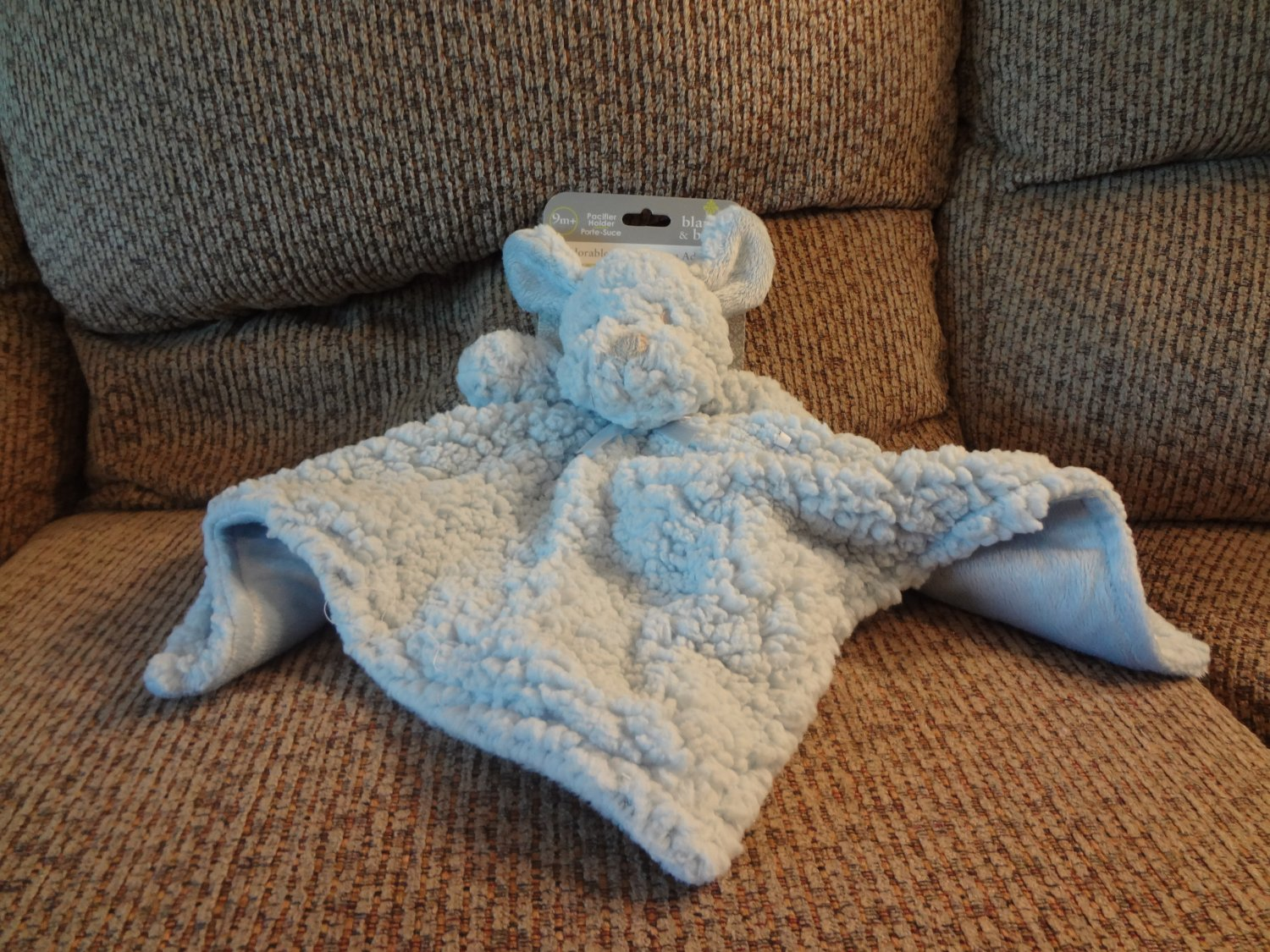 Nwt Blankets And Beyond Lovey Pacifier Holder Puppy Dog