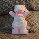 NWT Mary Meyer Corp Baby #35410 It's A Girl Butterfly Pink Teddy Bear Rattles Lovey Plush 8""