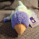 WT 2002 Manhattan Toy Twirps Lovie Parrot Bird #105330 Purple Yellow Green Orange Plush 11""