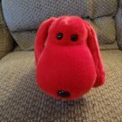 WMT 1998 Beanie Buddy Retired Lovey Rover Red Puppy Dog Plush 14""