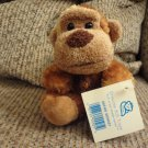 WT 2006 Princess Soft Toys Safari Monkey Brown Tan Monkey Plush 5""