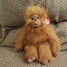 "Vintage WT Ty Classic 1994 Tango Monkey Orangoutang Orange Brown Hairy Lovey Plush 11"""