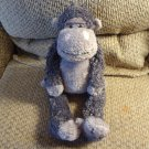 Jellycat #JCINC101 Smokey Gray Pink Monkey Gorilla Lovey Plush 16""