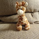 Mary Meyer Corp Lovey Black Button Eyes Brown Cream Giraffe Plush 6""