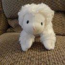 """Baby Gund #320077 Jesus Loves Me Lena Lamb White Laying Down Lovey Plush 9"""""""