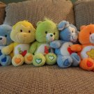 TCFC Care Bears Lot Of 5 Grumpy Playful Do Your Best Loyal Laugh Alot Plush 13""