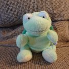 2007 Ty Pluffies Zips Green Yellow White Lovey Turtle Plush 11""