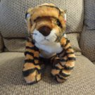 WT 2001 Ty Classic Growl Orange Black Striped Bengal Tiger Lovey Plush 18""