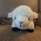 Moshi By Brentwood White Lamb Microbead Lovey Plush 16""