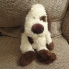 NWT Jellycat Bunglie Puppy Dog  Black Button Eyes Velvet Nose Lovey Plush 15""