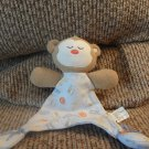 "Vitamins Sleepy Fiends Safari Tan Monkey Lovey Security Blanket 7x8"""