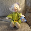 NWT Toy Factory Walt Disney The Seven Dwarfs Dopey Lovey Plush
