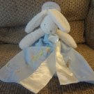 NWT Bunnies By The Bay White Yellow Bunny Rabbit Best Friends Indeed Security Blanket Lovey
