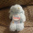 NWT VHTF Baby Gund Fluffles #58215 Musical Note Twinkle Twinkle Blue Puppy Dog Very Small Plush 5""