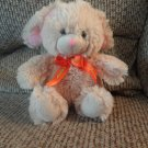 """Galerie Reeses Hershey Company Tan Pink Lovey Small Bunny Rabbit Plush 6"""""""