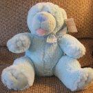 "NWT Baby Ganz Lovey Blue Pink #BG2807 Baby Bear Potts Teddy Bear Plush 10"""