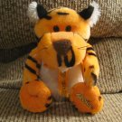 "Galerie Reeses Hershey Company Orange Black White Lovey Tiger Plush 9"""
