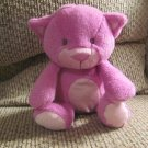 2012 Animal Adventure Purple Pink Mauve Kitty Cat Lovey Plush 10""