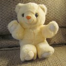 Vintage Cuddle Wit Cloth Palms Foot Pads Ears Cream Lovey Teddy Bear Plush 11""