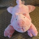 Gund #320135 Scoops Priscilla Pink Stuffed Pig Plush 6""