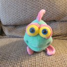 Quality Soft Sculpture Jennifer Mazur Funny Friends Yellow Polka Dotted Fish Lovey Plush 14""