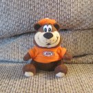 Vintage A&W CSA Inc All American Food Teddy Bear Lovey Plush 6""