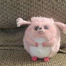 2012 Ty Beanie Balz Pink Poodle Lovey Puppy Dog Plush 5""
