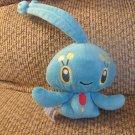 """2007 Jakks Pacific Pokemon Manaphy Gen4 Water Type Lovey Plush 12"""""""